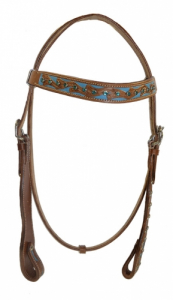 COLOURED WESTERN BRIDLE