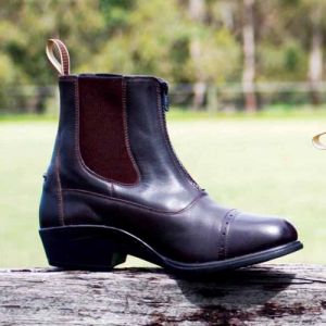 ASCOT PRO ZIP LEATHER BOOT