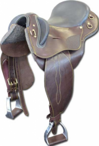 Polocrosse Saddle Leather